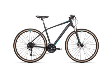 Rock Machine CrossRide 700 mat black/petrol blue/dark grey 2020 - 1