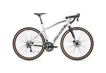 Rock Machine GravelRide 500 gloss silver/black 2020 - 1
