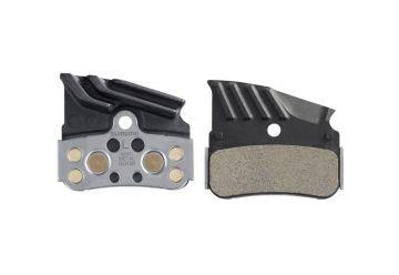 Brzdové destičky Shimano N04C kovové s chladičem - 1