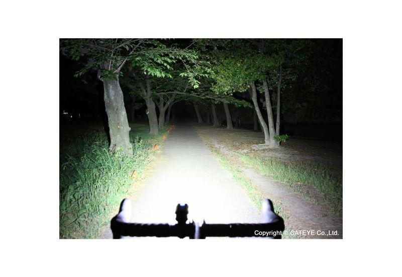 Světlo př. Cateye HL-EL088RC AMPP800 černá - 4