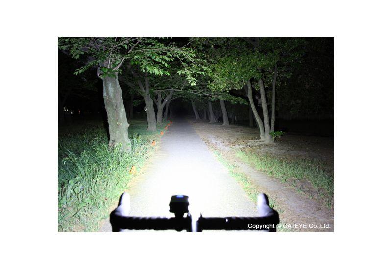 Světlo př. Cateye HL-EL1100RC AMPP1100 černá - 4