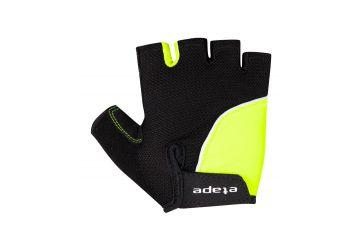 Etape - dětské rukavice TOBI, černá/žlutá fluo - 1