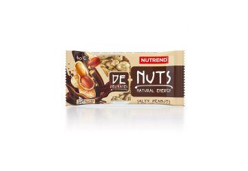 Nutrend - DeNuts,slané arašídy v hořké čokoládě - 1