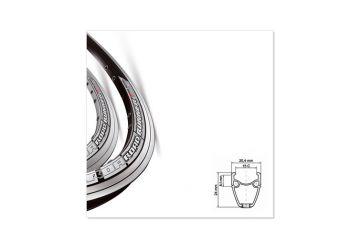 Ráfek Mach1 - Road Runner 622x15 32 děr černý - 1