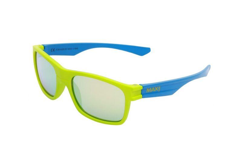 Dětské brýle Max1 Kids zeleno/modré - 1