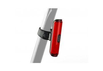 Světlo zad. Author Pilot USB CobLed 50 lm černá/červené-sklo - 1