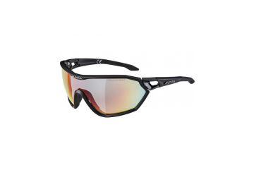Sportovní fotochromatické brýle ALPINA S-WAY L QVM+, Black matt - 1