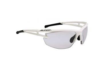Sportovní fotochromatické brýle Alpina Eye-5 HR VL+,White matt-black - 1