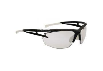 Sportovní fotochromatické brýle Alpina Eye-5 HR VL+,Black matt-white - 1