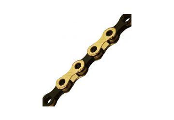 Řetěz KMC X-12 Ti-N černo/zlatý v krabičce - 1