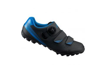 SHIMANO MTB obuv SH-ME400MB, černá/modrá - 1