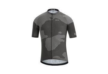 Pánský dres GORE C3 Combat Jersey-graphite grey/black - 1