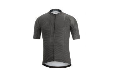 Pánský dres GORE C3 Line Brand Jersey-black/graphite grey - 1