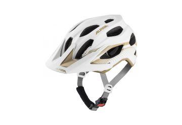 Cyklistická helma Alpina CARAPAX 2.0 white-prosecco - 1