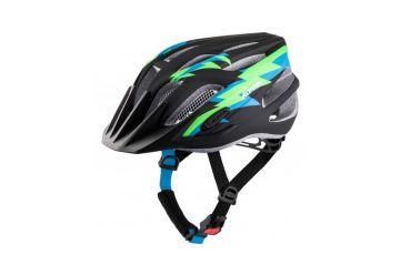 Cyklistická helma Alpina FB Junior 2.0 LE black-green matt - 1
