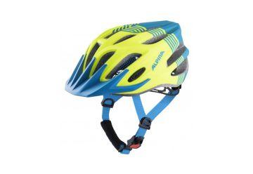 Cyklistická helma Alpina FB Junior 2.0 LE neon-blue matt - 1