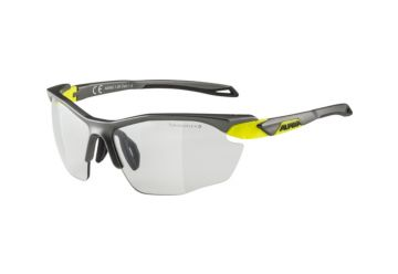 Sportovní fotochromatické brýle Alpina TWIST FIVE HR VL+ , tin matt-neon yellow - 1