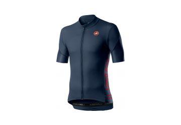 Cyklistický dres Castelli Entrata V dark infinity blue 2020 - 1