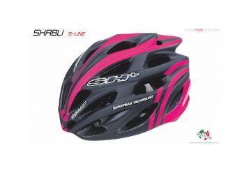 Silniční helma SH+ Shabli s-line,Matt finishing black matt/pink fluo - 1