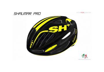 Silniční helma SH+ SHALIMAR PRO, Black matt/yellow F. - 1