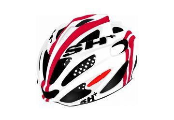 Silniční helma SH+ SHABLI S-LINE WHITE MATT/RED - 1