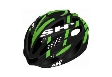 Silniční helma SH+ SHABLI X-PLOD BLACK/GREEN - 1