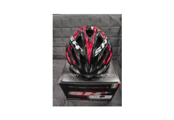 Silniční helma SH+ SHABLI X-PLOD BLACK/RED - 1