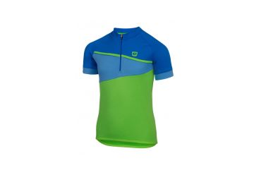 Etape – dětský dres PEDDY, zelená modrá - 1