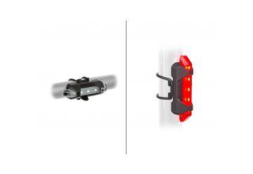 Světlo sada A-Stake Mini USB - černá - 1