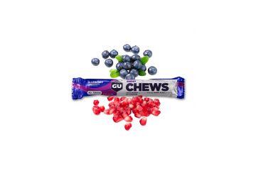 GU Chews 54g - Blueberry/Pomegranate 1 SÁČEK (18 sáčků v balení) - 1