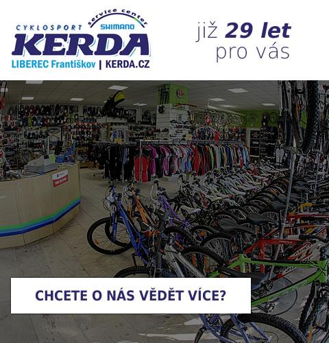 Cyklosport Kerda - již 29 let pro vás